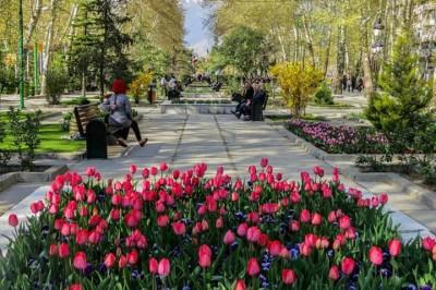 مکانهای دیدنی - پارک ملت تهران