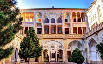 مکانهای دیدنی - خانه عباسیان کاشان