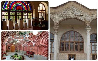 مکانهای دیدنی - خانه صرافلار (موزه سفال تبریز)
