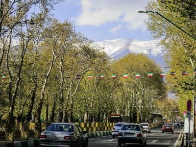 طولانی ترین خیابان خاورمیانه خیابان ولیعصر