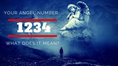 عدد فرشته 1234