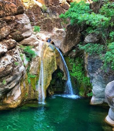 آبشار زیبای کبوترلو - لرستان