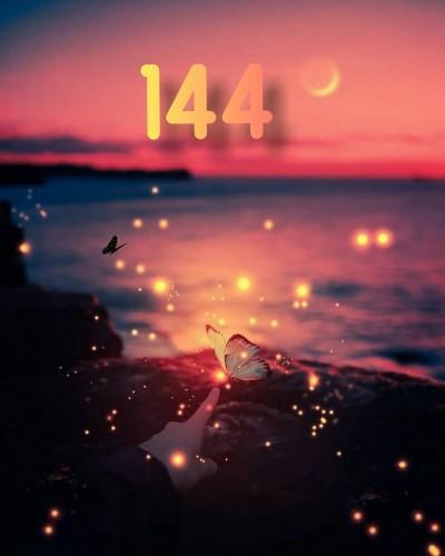 عدد فرشته 144