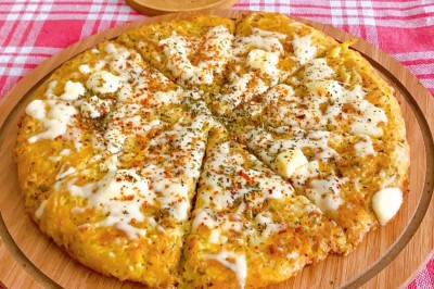 طرز تهیه پیتزای سیب زمینی