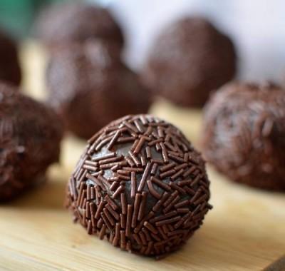 ترافل شکلاتی برزیلی