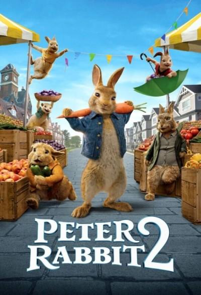 دانلود انیمیشن پیتر خرگوشه دو 2021 دوبله فارسی