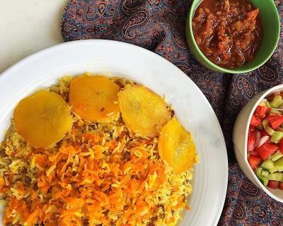 طرز تهیه یارمه پلو غذای سنتی قم